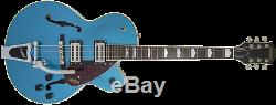 Gretsch G2420T Streamliner with Bigsby Riviera Blue Electro Acoustic Guitar