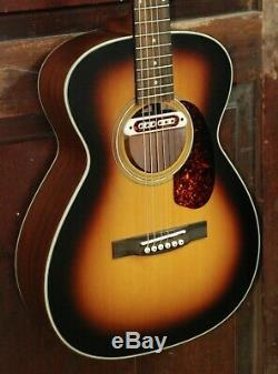 Guild M-240E Troubadour Steel String Acoustic-Electric Sunburst Guitar