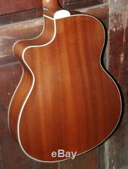Guild OM-240CE Orchestra Acoustic-Electric Steel String Mahogany Guitar withBag