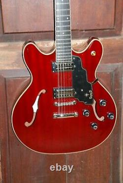 Guild Starfire IV 12-ST 12-String Cherry Semi-Hollow Body Electric Guitar WithHSC