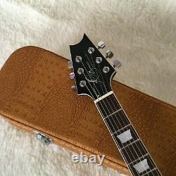 Guitar Factory Custom Electric Guitar High Quality Design Blue Fast Delivery