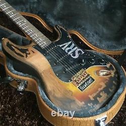 Guitar Factory Custom Electric Guitar Retror S R V Standard Guitar Fast shipping