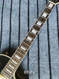 Guitar Production Plant Custom Made Black card Three Pickups Electric Guitar