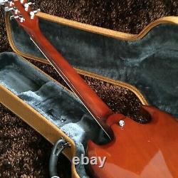Guitar Production Plant Custom Made Electric Guitar Red Color Guitar