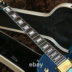 Guitar Production Plant Custom Made Electric Guitar Standard Blue Guitar