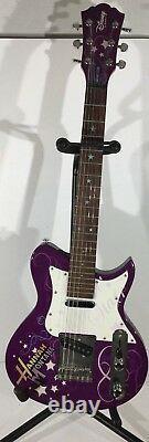 Hanna Montana Disney Secret Star by Washburn 6-string electric guitar purple