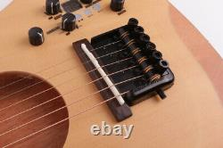 Headless electric acoustic silent Guitar travel mini portable built in effect