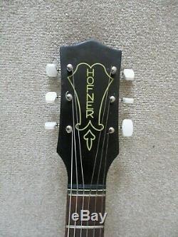 Hofner GuitarSenatorVintage 1958 ArchtopElectro-acousticGood condition