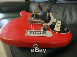 Hofner GuitarVintage1960sSuper solidTremoloRoad worn