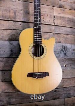 Ibanez AEG30-LG Acoustic Electric Bass Guitar