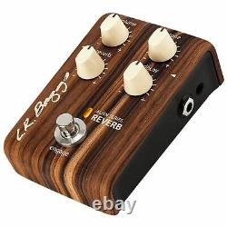 LR Baggs Align Series Reverb Acoustic-Electric Guitar Effects Pedal Stompbox