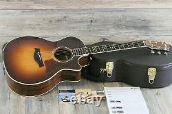 MINTY! 2014 Taylor 714CE Grand Auditorium Acoustic/Electric Guitar Sunburst+OHSC