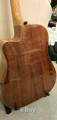 Maton EA80c Australian Acoustic Electric Dreadnought Guitar Bunya Blackwood AP5