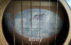 Maton EM-6 Mini Acoustic Electric Guitar WithCase Natural Satin
