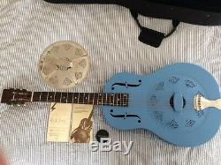Michael Messer Blues Resonator Guitar+ National cone