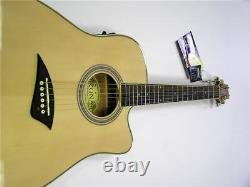 New Pro Quality Thin Body Full Acoustic Electric Cutaway Guitar