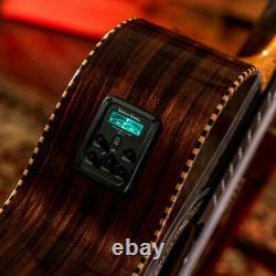 Oscar Schmidt OH32SE 10 String Bajo Quinto Latin Acoustic Electric Guitar with Bag