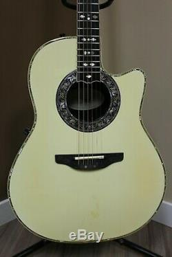 Ovation 1869 Custom Legend US MADE Acoustic Electric Guitar withoriginal case