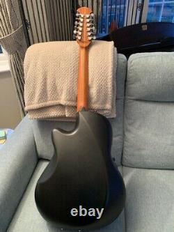 Ovation 2751AX Standard Balladeer 12 String Guitar With Hard Case