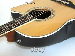Ovation Celebrity Acoustic Electric Cutaway Guitar Solid Spruce Natural Cs24-4