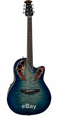 Ovation Celebrity Collection 6 String Acoustic-Electric Guitar, Right, Regal