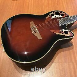 Ovation Celebrity Deluxe CS247 Acoustic Electric Guitar/Crossrock Bag