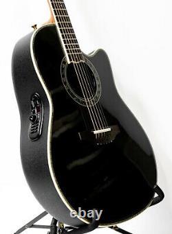 Ovation Custom Legend C2079 AX Deep Contour Acoustic-Electric Guitar with Case