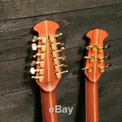 Ovation RSE225 Richie Sambora Elite Double-neck Acoustic Electric Guitar with Case