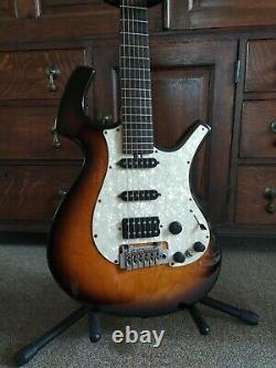 Parker P38 Stratocaster style electric guitar + piezo'acoustic' pickup