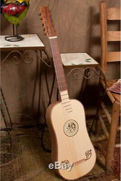 ROOSEBECK BAROQUE ACOUSTIC GUITAR 5-COURSE with GIG BAG