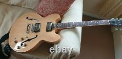 Radiotone 335 Semi Acoustic Hollow Body Electric Guitar Condition is 98%