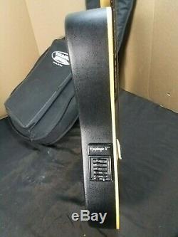 Rare Epiphone El Diablo Acoustic Electric Guitar in Fender Strat Style