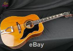 Rare Vintage Eko Ranger 12 String Acoustic Electric Guitar Italy