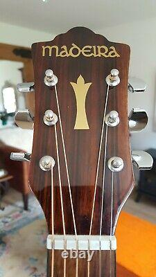 Rare vintage Guild guitar a10 Madera 1970s with hard case