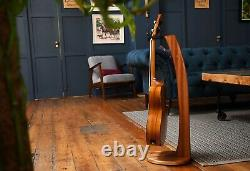 Ruach Music Hardwood Wooden Guitar Stand for Acoustic/Electric/Bass Guitars