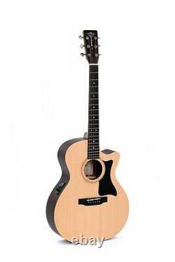 SIGMA GUITARS Gitarre GTCE+ mit Cutaway Custom + Sigma Tonabnehmer NEU/NEW