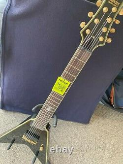 Schecter Flying V 7-string Guitar signed by Chris Howorth of In This Moment NEW
