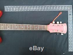 Semi-Acoustic Guitar Electric JOLANA RUBIN Halbakustische Gitarre