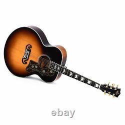 Sigma SG Series GJA-SG200 Jumbo Electro Acoustic Guitar Sunburst with Case