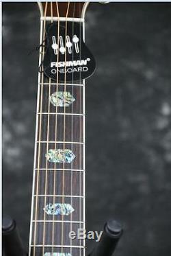 Starshine SR-MAC-D45Q Solid Top Cutway electric Acoustic Guitar Fishman EQ