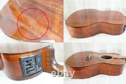 TAKAMINE PT-407 Hawaiian Koa MIJ New Yorker Style Acoustic Electric Guitar WithGB