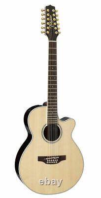 Takamine 100 series PTU141C-12 N Acoustic Electric Guitar 12 string Guitar sound