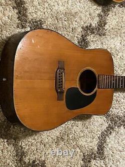 Takamine 12 String Guitar F-385 Lawsuit Era Vintage Acoustic Guitar NEEDS TLC