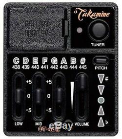 Takamine CT4-BII PTU Acoustic guitar preamp