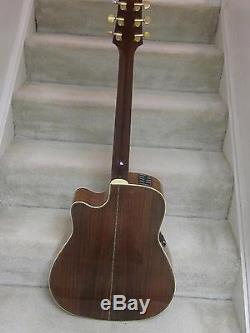 Takamine EG-334C acoustic/electric guitar- nice cutaway jumbo