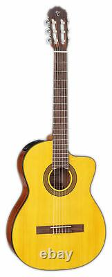 Takamine GC3CE Classical Cutaway Acoustic-Electric Guitar Natural Gloss