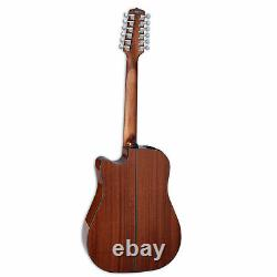 Takamine GD30CE-12 NAT Dreadnought 12 String Acoustic Electric Guitar, Natural