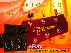 Takamine TP-E / TPE EASY G Series Acoustic Guitar preamp Latest Revision NEW