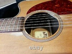 Takamine Tan10c Dreadnought Electro Acoustic Guitar with Hard Case Japan MIJ