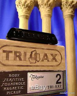 Takamine TriAx 2 Acoustic Guitar Pickup / Modified Baggs M80 / Authorized Dealer